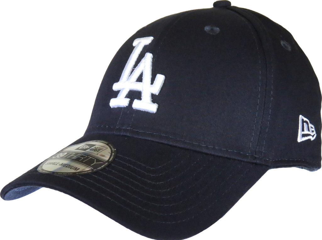 New Era 3930 League Basic LA Dodgers Stretch Fit  Baseball Cap - pumpheadgear, baseball caps