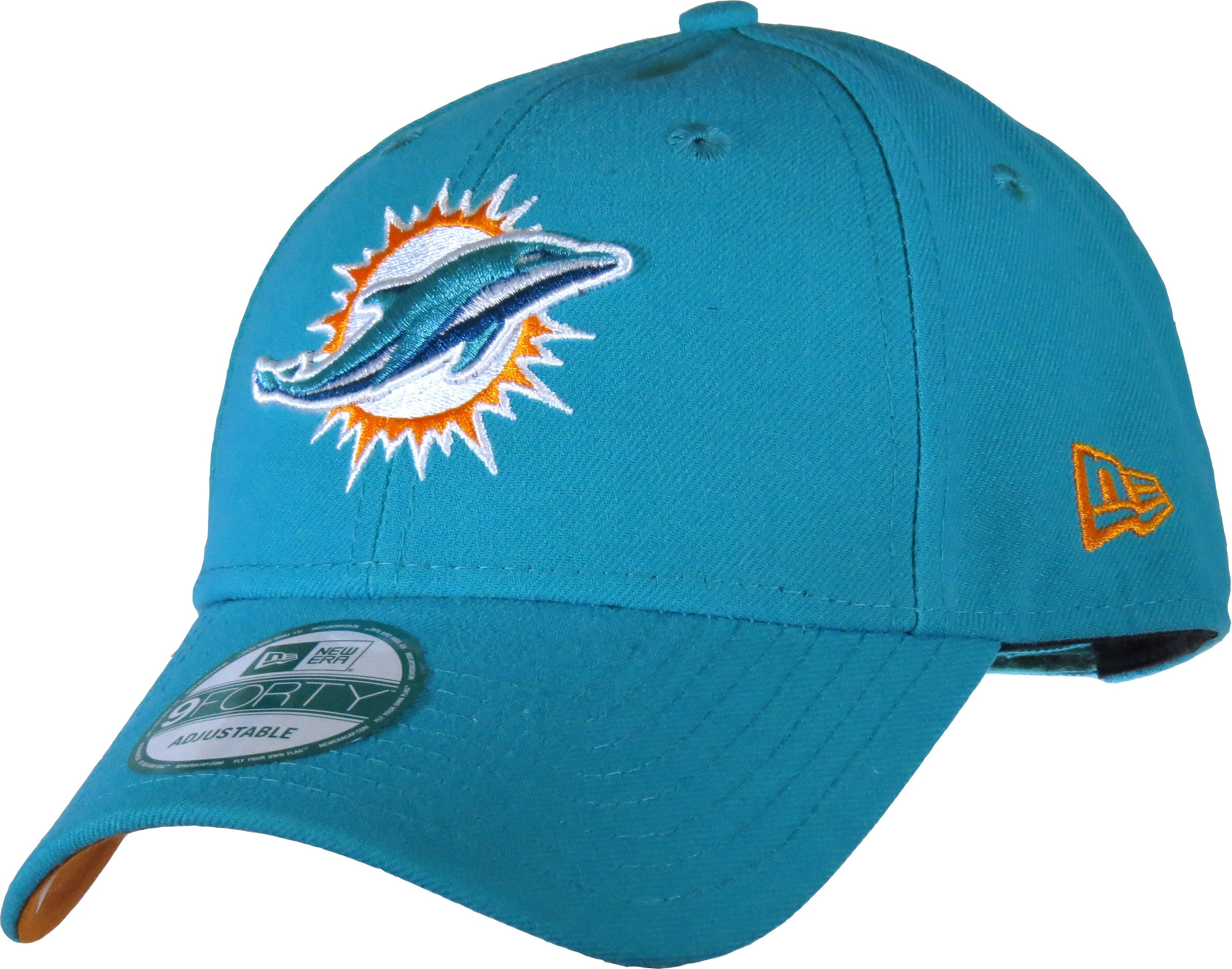5c3523e1b87 Miami Dolphins New Era 940 The League NFL Adjustable Cap - pumpheadgear