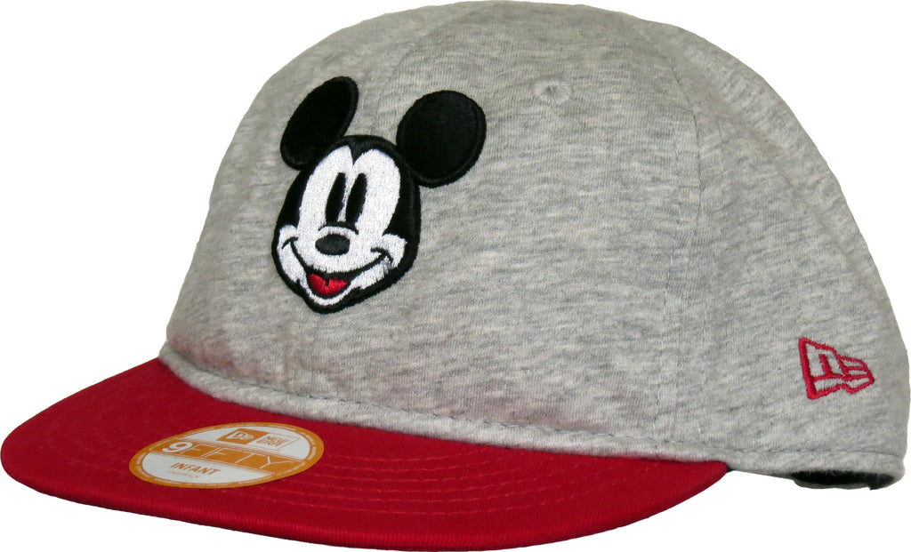 Mickey Mouse New Era 950 Jersey Crown Infant Snapback Cap ( 0 - 2 years old ) - pumpheadgear, baseball caps