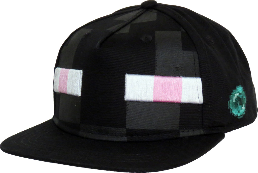 Minecraft Enderman Kids Snapback Cap (Age 5 - 10years)