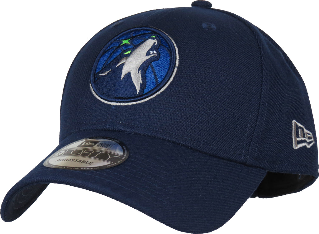 Minnesota Timberwolves New Era 940 The League NBA Team Cap - pumpheadgear, baseball caps