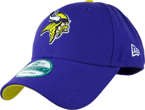 Minnesota Vikings New Era 940 The League NFL Adjustable Cap - pumpheadgear, baseball caps