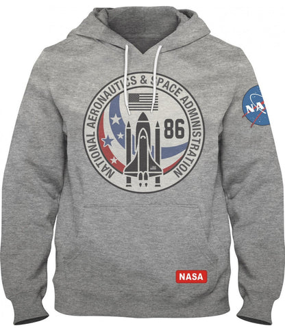 NASA Vintage 86 Grey Hoody