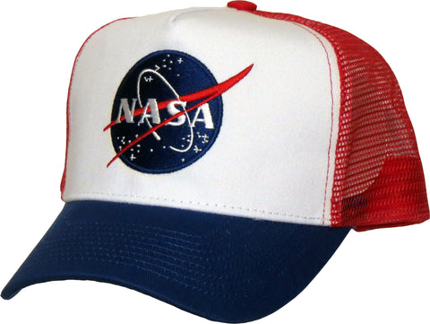 NASA Multi Panel Trucker Cap
