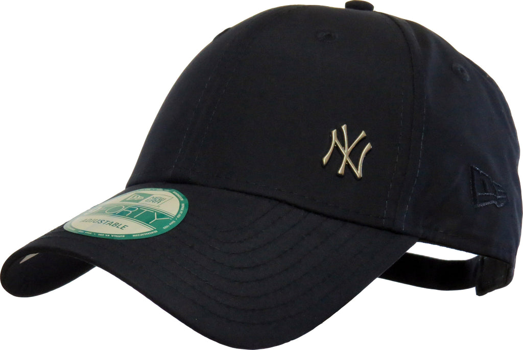 New Era 940 Flawless NY Logo Navy Baseball Cap - pumpheadgear, baseball caps