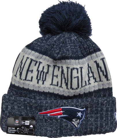 466926bd9 New England Patriots New Era NFL On Field 2018 Sport Knit Bobble Hat