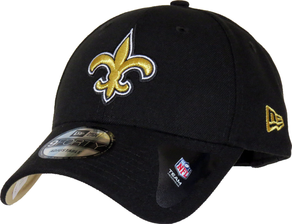 New Orleans Saints New Era 940 The League NFL Adjustable Cap - pumpheadgear, baseball caps