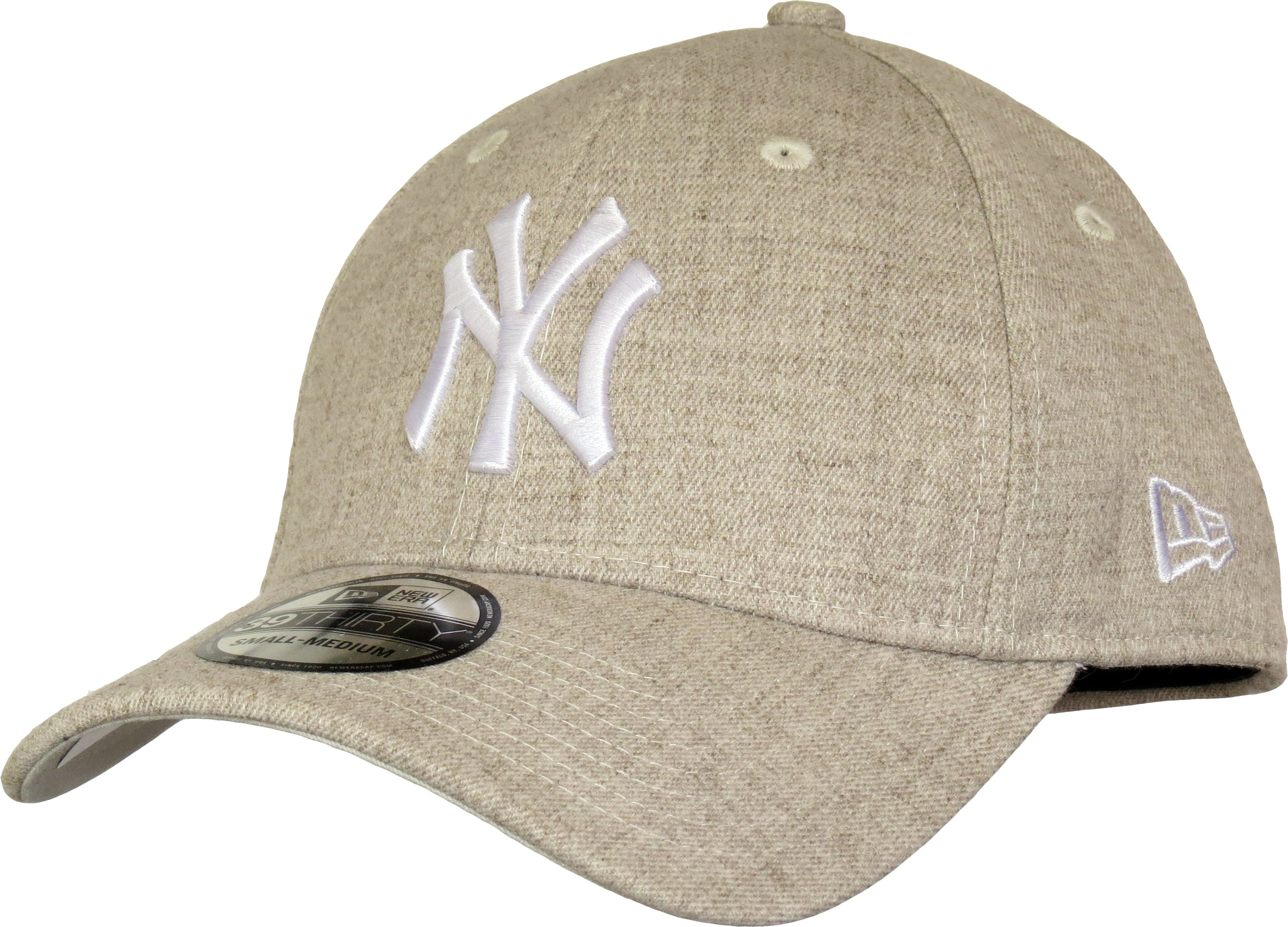 NY Yankees New Era 3930 Heather Team Stretch Fit Baseball Cap – lovemycap d578fe9332fc