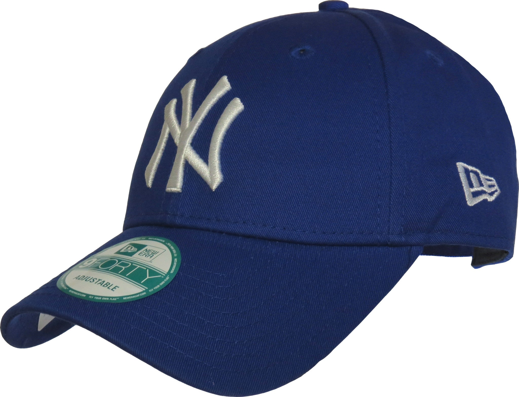 New Era 940 League Basic NY Yankees Adjustable Royal Blue Baseball Cap -  pumpheadgear 24611611eb1