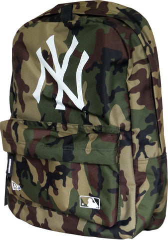 NY Yankees New Era MLB Camo Stadium Backpack