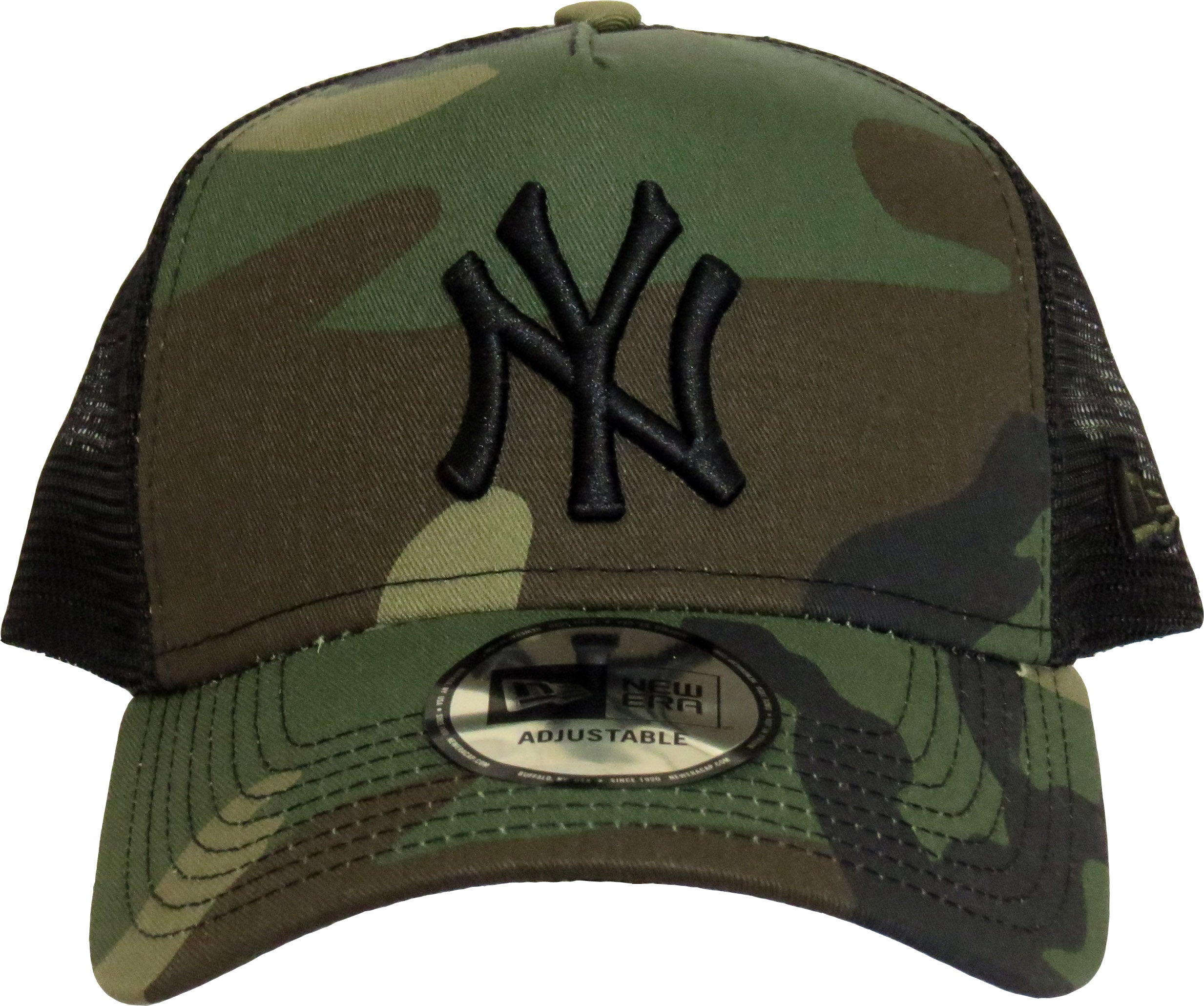50% off great fit genuine shoes NY Yankees New Era Woodland Camo Clean Trucker Cap – lovemycap