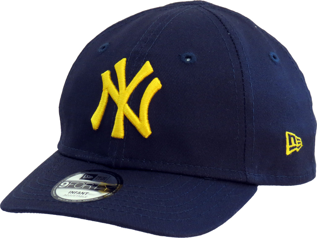 NY Yankees New Era 940 Stretch Fit Infants Navy Cap (0-2 years) - pumpheadgear, baseball caps