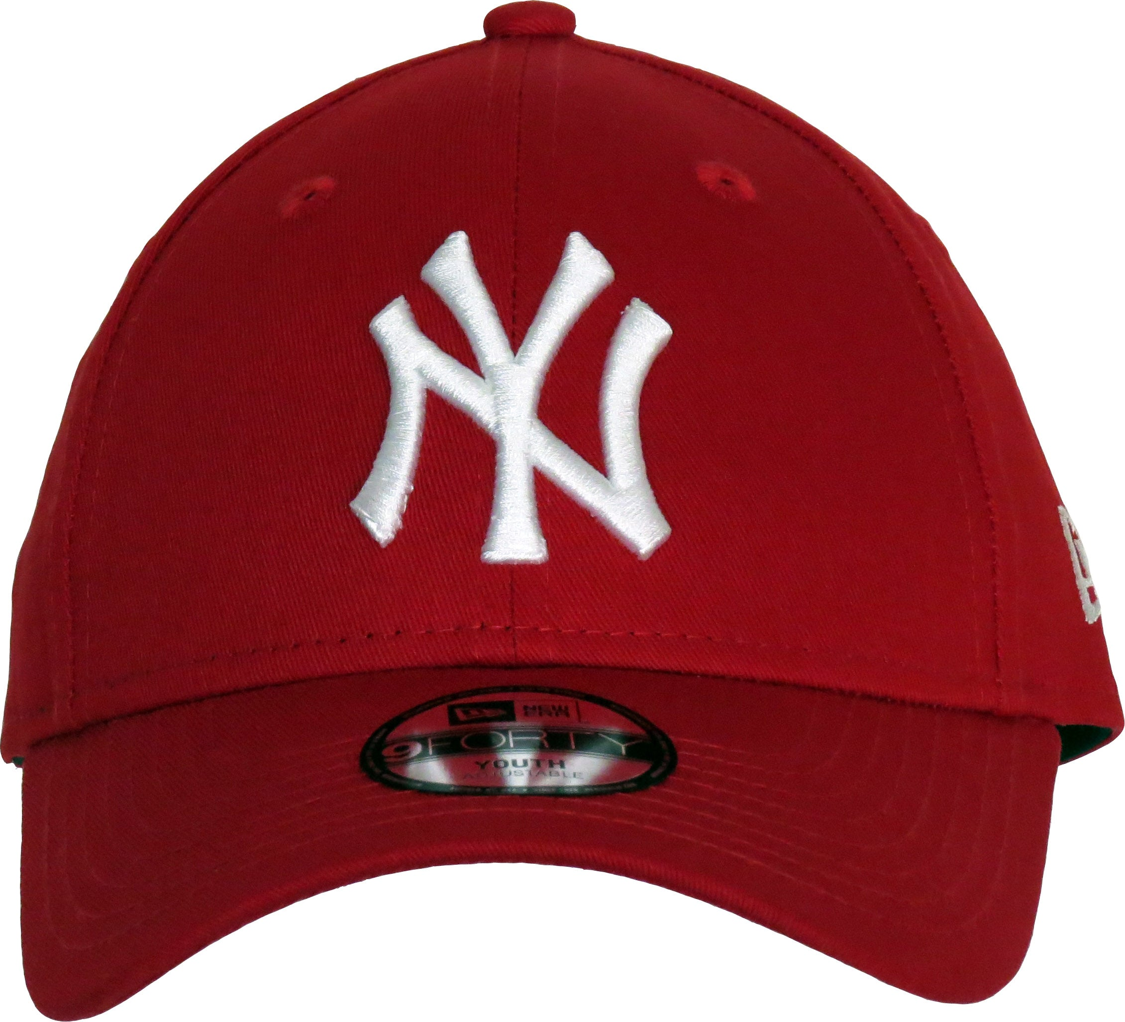 2773c28f5c3fc best ny yankees new era 940 kids scarlet baseball cap age 4 10 years 5e7e8  9ab92