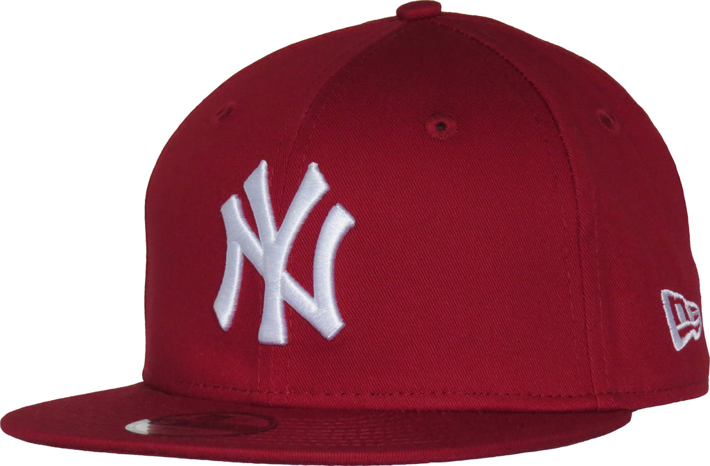 fbb6ebc9bb6 NY Yankees New Era 950 Kids Essential Red Snapback Cap (Age 4 - 10 years