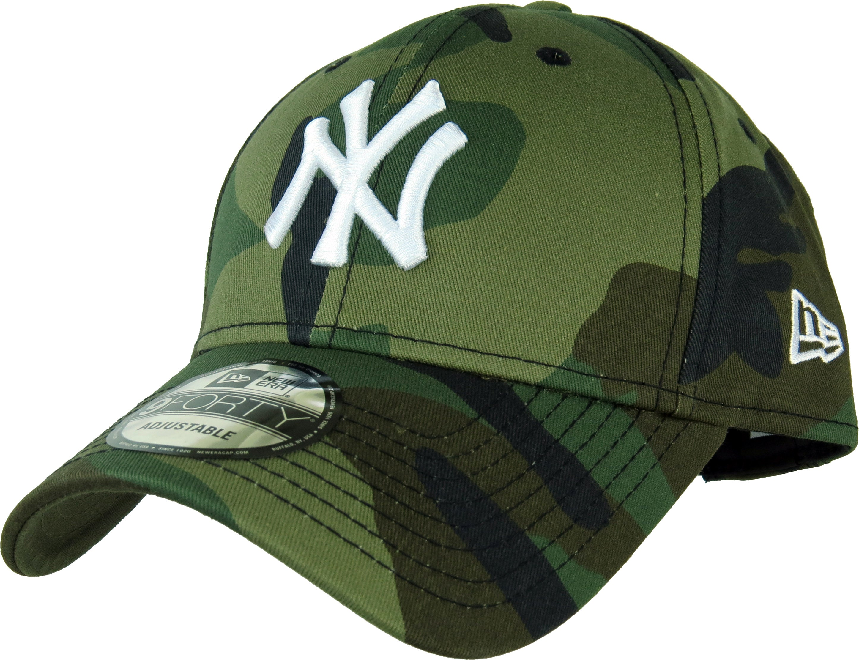New Era 940 League Essential NY Yankees Camo Baseball Cap – lovemycap 453af553f0a