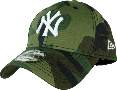 New Era 940 League Essential NY Yankees Camo Baseball Cap