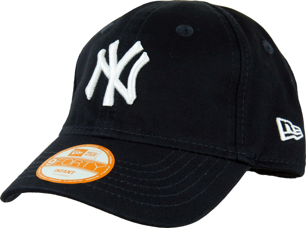 New Era 940 My 1st NY Yankees Stretch Fit Infants Navy Cap (0-2 years) - pumpheadgear, baseball caps