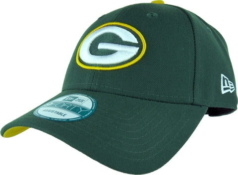 Green Bay Packers New Era 940 The League NFL Adjustable Cap - pumpheadgear, baseball caps