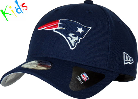 pretty nice 02ec3 8da17 New England Patriots Kids New Era 940 NFL The League Cap (Age 5 - 10
