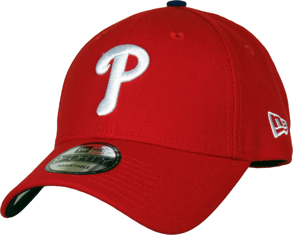 Philadelphia Phillies New Era 940 The League Pinch Hitter Baseball Cap - pumpheadgear, baseball caps