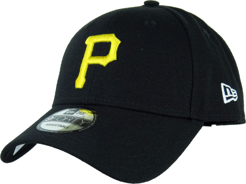 Pittsburgh Pirates New Era 940 The League Pinch Hitter Baseball Cap - pumpheadgear, baseball caps