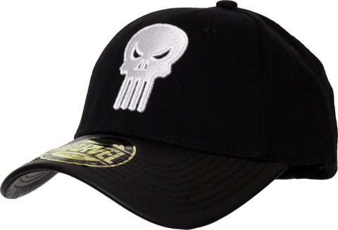 Marvel Comics The Punisher Adjustable Black Cap - pumpheadgear, baseball caps