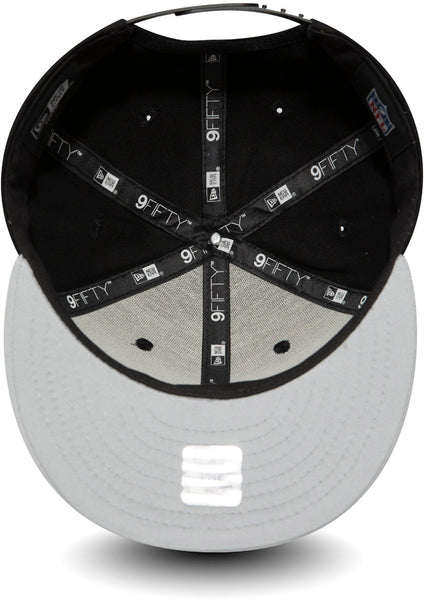... Oakland Raiders New Era 950 Kids Essential Snapback Cap (Ages 5 - 10  years) a30a40a9930f