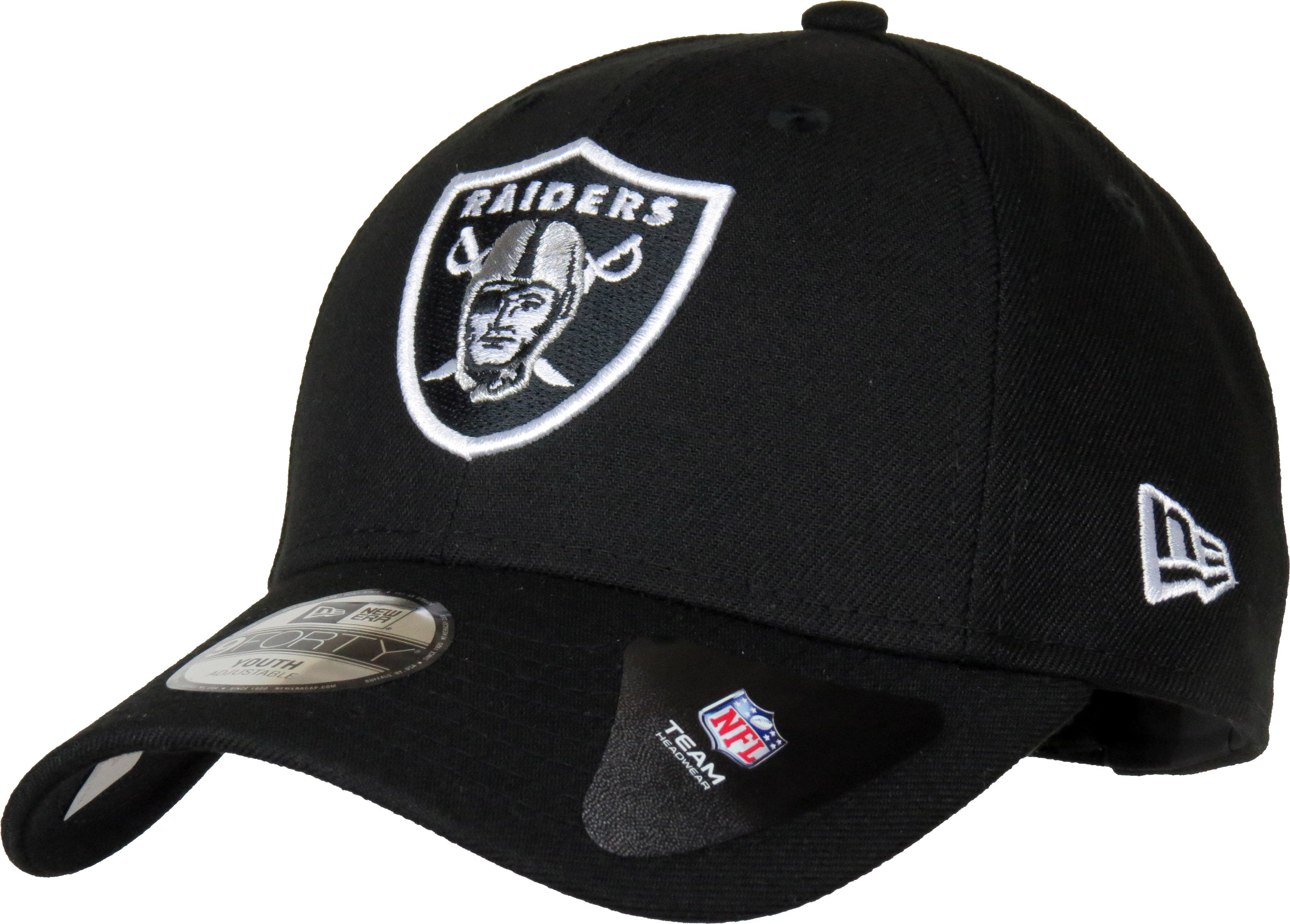 Oakland Raiders Kids New Era 940 NFL The League Cap (Age 5 - 10 years) –  lovemycap 4bab26e960d