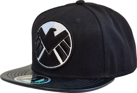 Marvel Comics Agents Of SHIELD Black Snapback - lovemycap