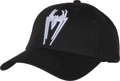 Spiderman Spider Logo Black Cap