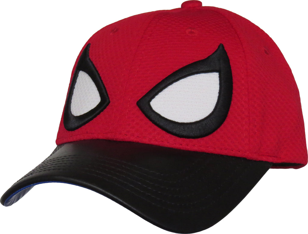 Marvel Comics Spiderman Eyes Adjustable Cap - pumpheadgear, baseball caps