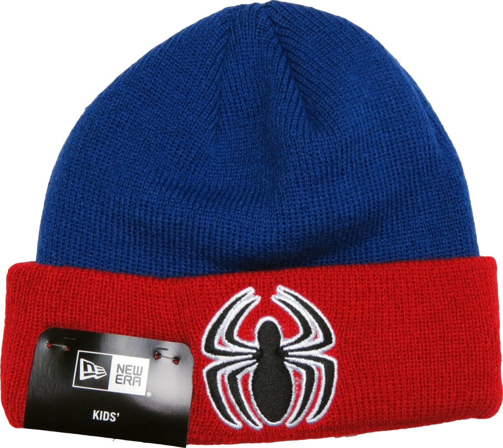 Spiderman New Era Infants Hero Cuff Beanie (0 - 2 years) - pumpheadgear, baseball caps