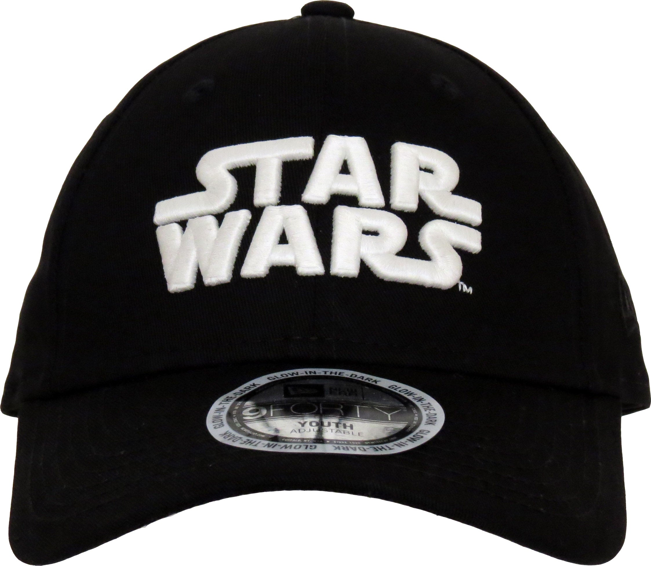 best service 1b2c3 6376b inexpensive uk star wars new era kids 940 glow in the dark black cap ages 2