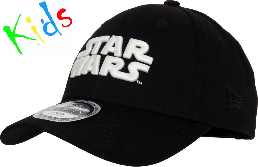Star Wars New Era Kids 940 Glow In The Dark Black Cap (Ages 2 - 94782ec0de70