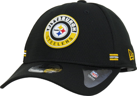 Pittsburgh Steelers New Era 3930 NFL 2020 Alt Road Stretch Fit Cap