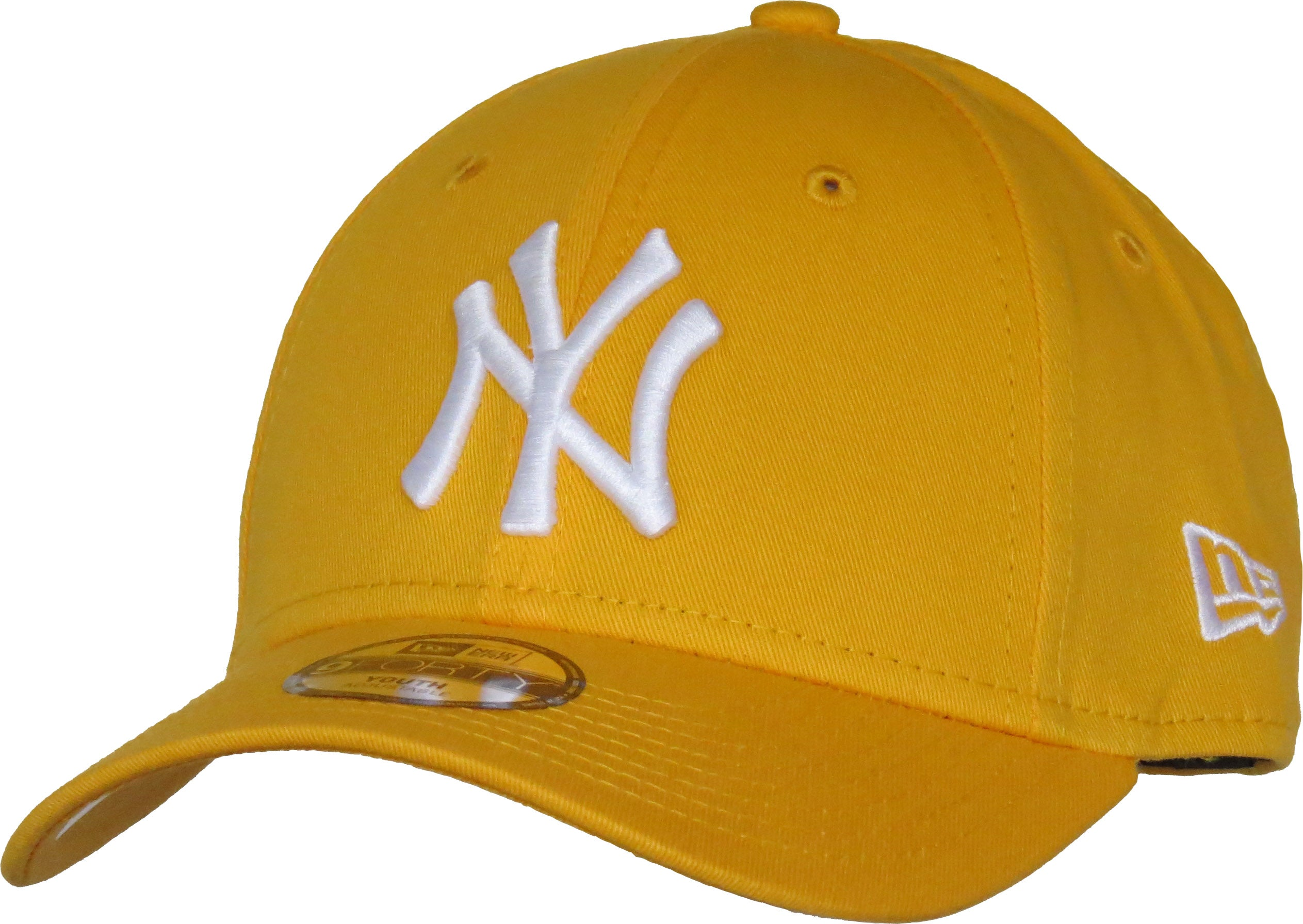 NY Yankees New Era 940 Kids League Essential Yellow Cap (Ages 2 - 10 y –  lovemycap 208b6ab5e26