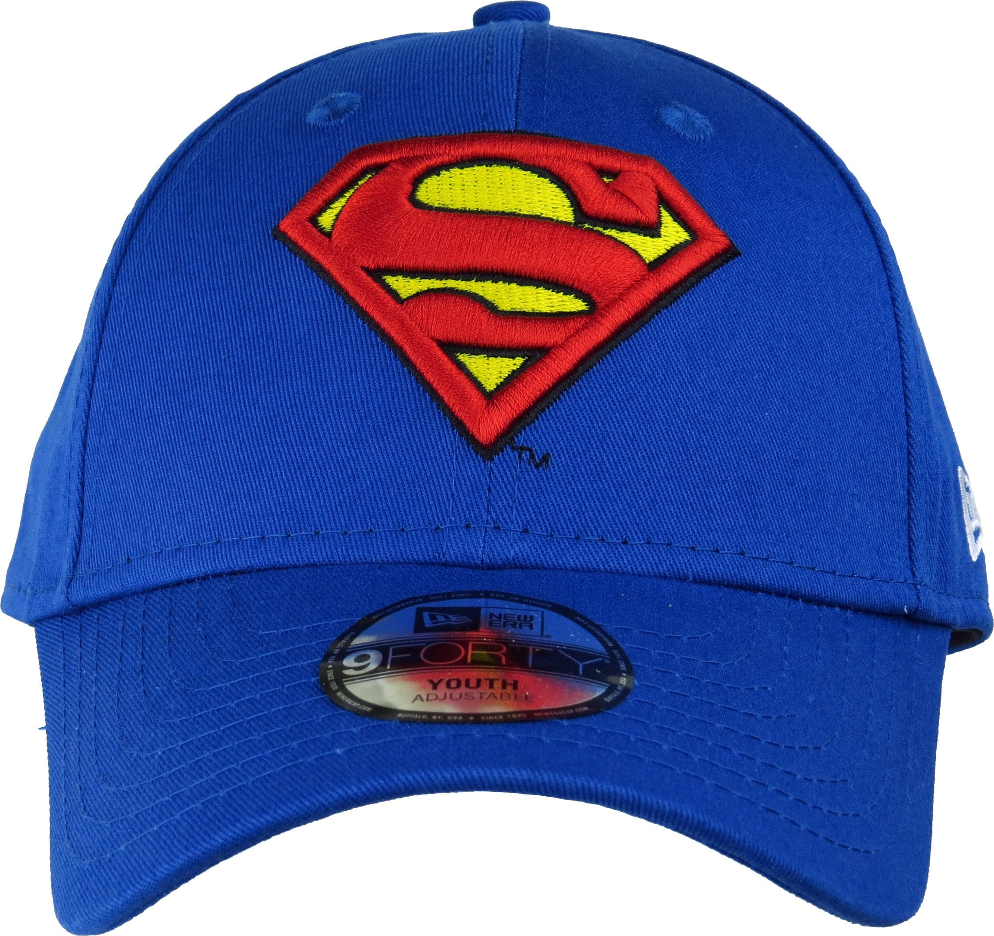 493793d999a ... Superman New Era 940 Hero Essential Kids Adjustable Cap (Age 0 - 10  years) ...