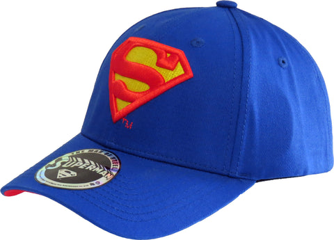 DC Comics Superman Blue Baseball Cap