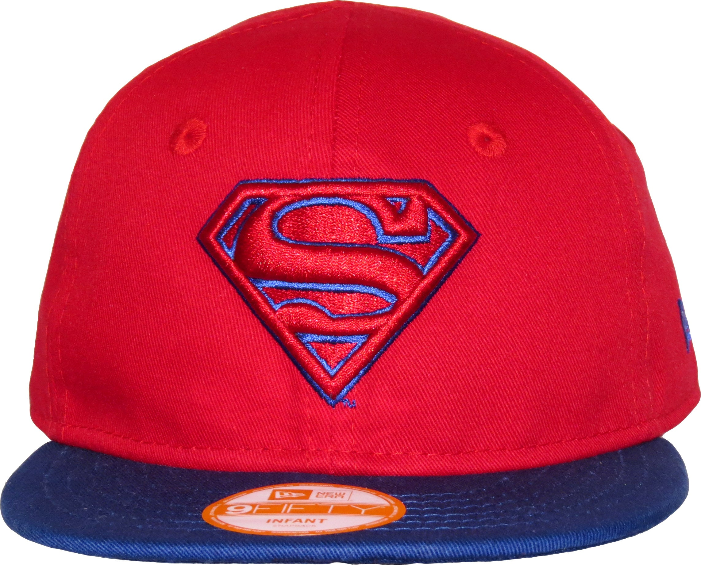 305a643fc5c Superman New Era 950 Infants Red Snapback Cap ( 0 - 2 years old ...