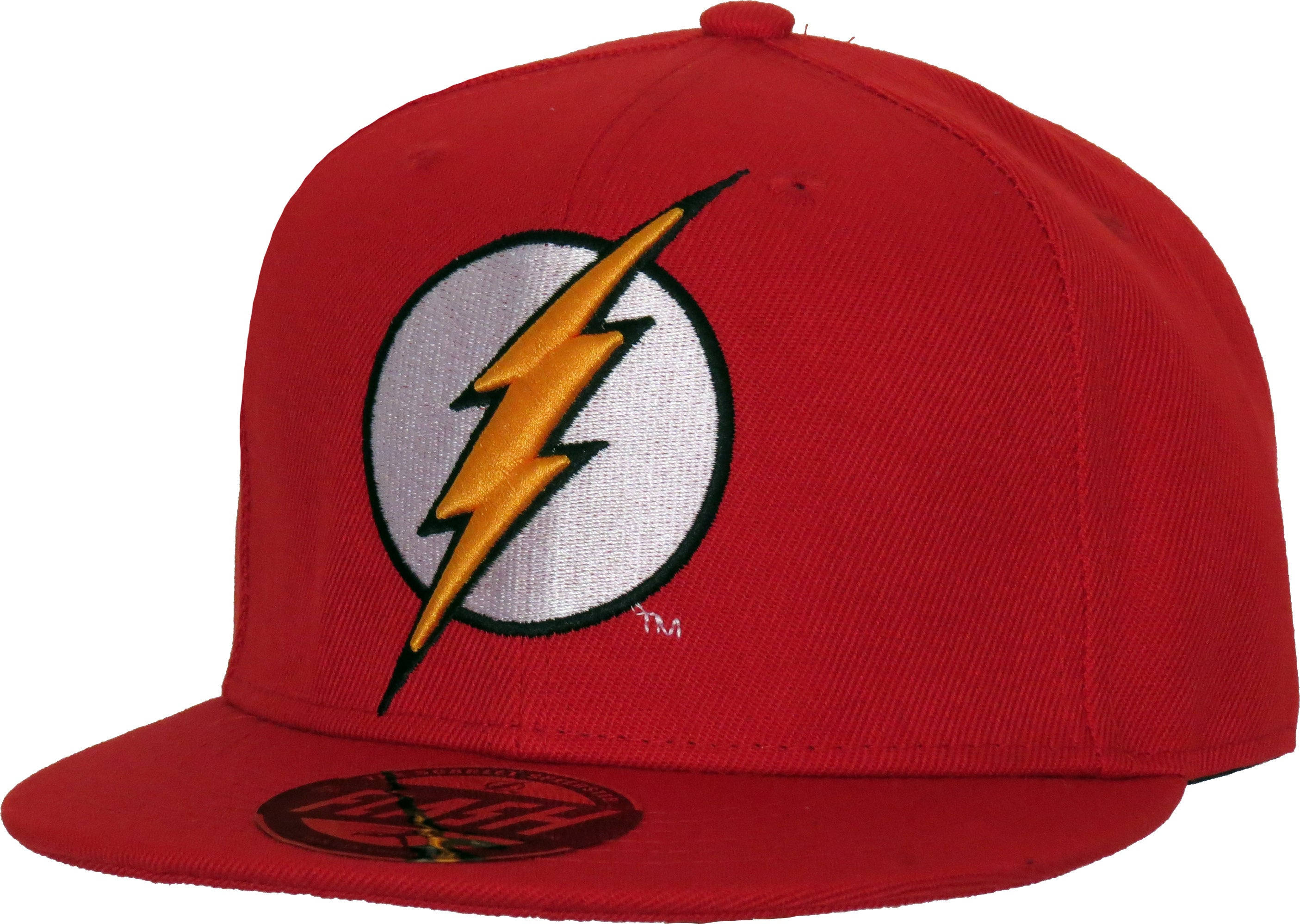 db8e3b9cd7b DC Comics The Flash Classic Logo Red Snapback Cap - pumpheadgear