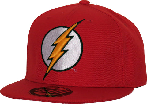 DC Comics The Flash Classic Logo Red Snapback Cap - pumpheadgear, baseball caps