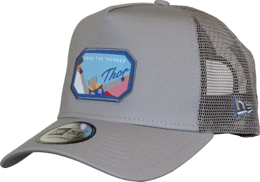Thor Marvel Avengers New Era Grey Trucker Cap