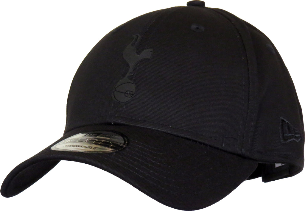 Tottenham Hotspur New Era 940 All Black Cap - pumpheadgear, baseball caps
