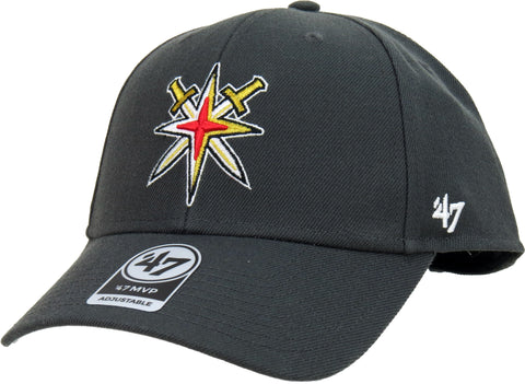 Vegas Golden Knights 47 Brand MVP Adjustable NHL Team Cap