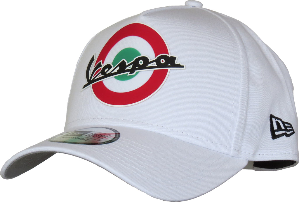 Vespa SP19 New Era E-Frame White Trucker Cap