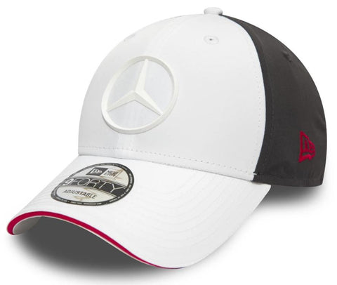 Mercedes AMG Petronas E-Sport New Era 940 White Cap - pumpheadgear, baseball caps