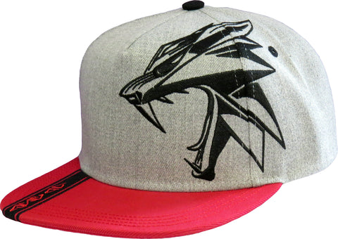 The Witcher Wolf Way Snapback Cap