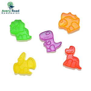 Dinosaur Gummy Bear Mold Silicone 3 Pack ~ BONUS 3 Droppers