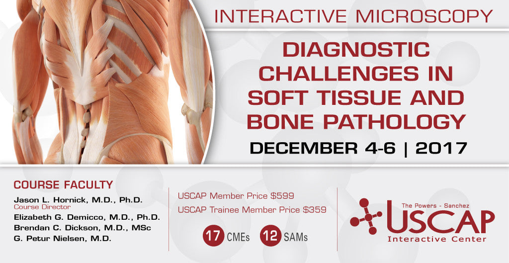 2017, Dec. 4-6: Diagnostic Challenges in Soft Tissue and Bone Pathology