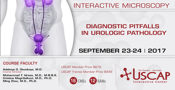 2017, Sept. 23-24: Diagnostic Pitfalls in Urologic Pathology